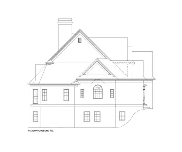 Hatfield Place House Plan