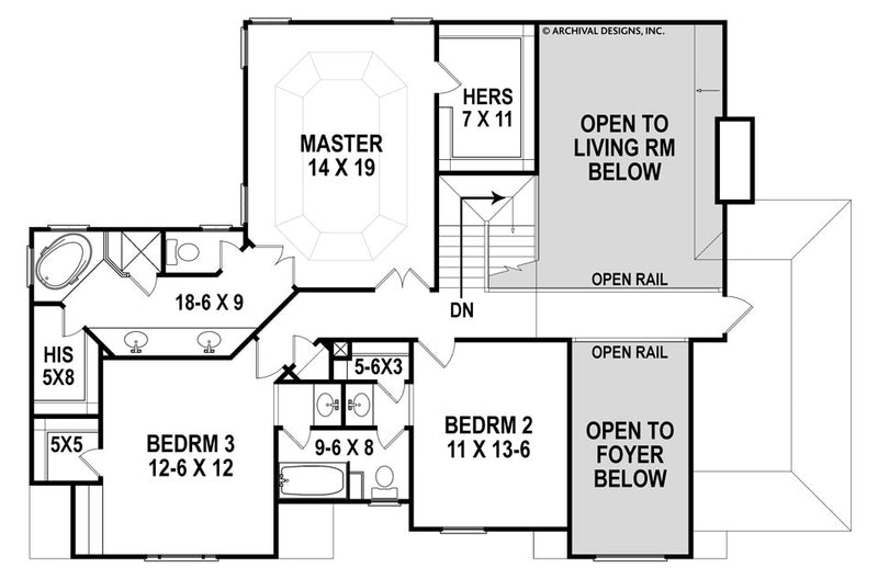 Hatheway second floor, floor plan