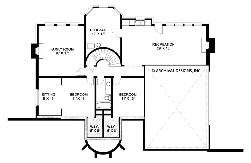 Hepplewhite basement floor plan