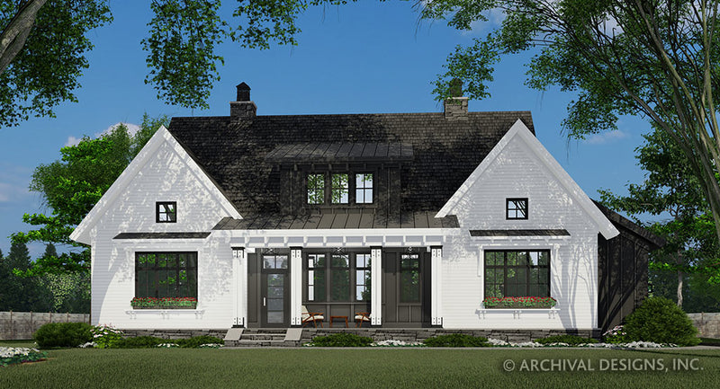 Hidden Brook Farm House Plan
