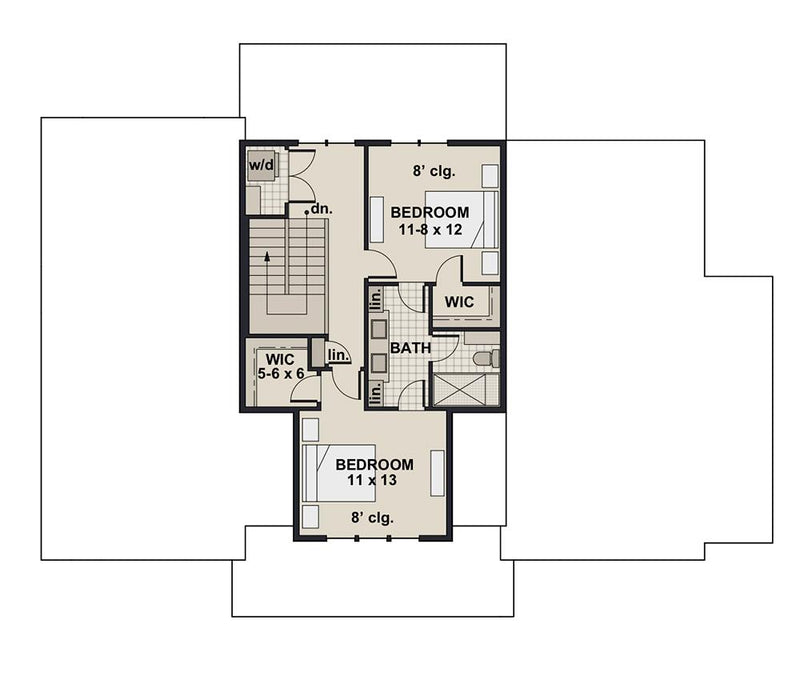 Hidden Brook Farm - Second Floor Plan