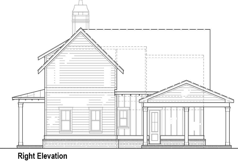 Hillstreet Farm House Plan