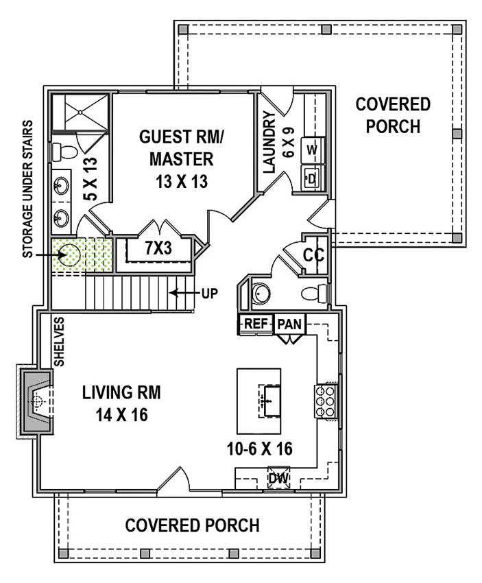 Hillstreet Farm - First Floor Plan