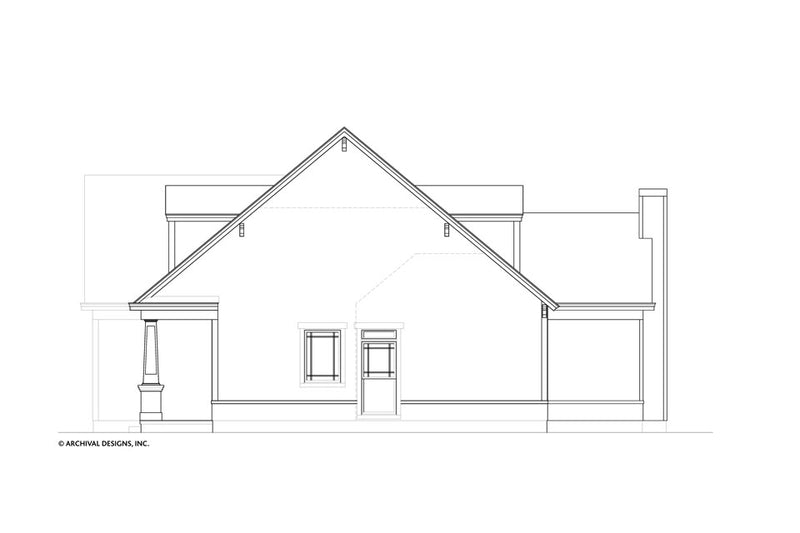 Holly Cottage House Plan