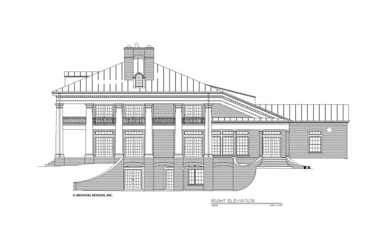 Houmas House Plan