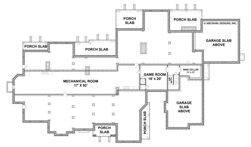Humber basement floor plan