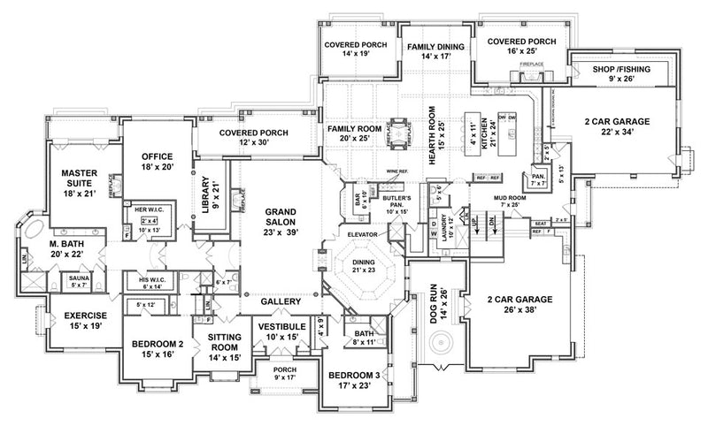 Humber first floor plan