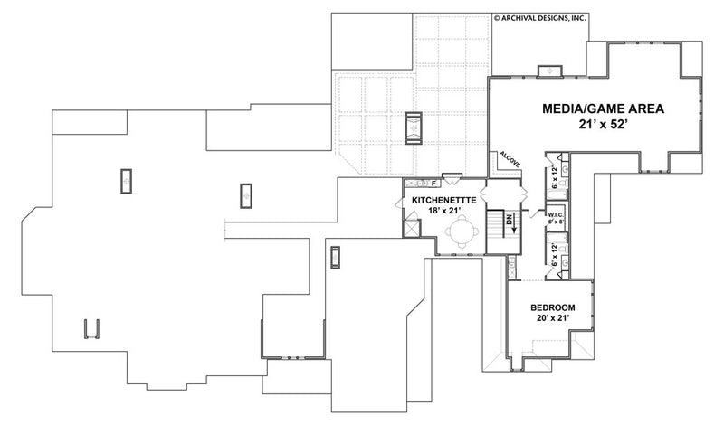 Humber second floor plan
