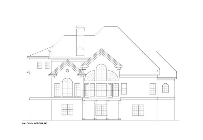 Huntington House Plan