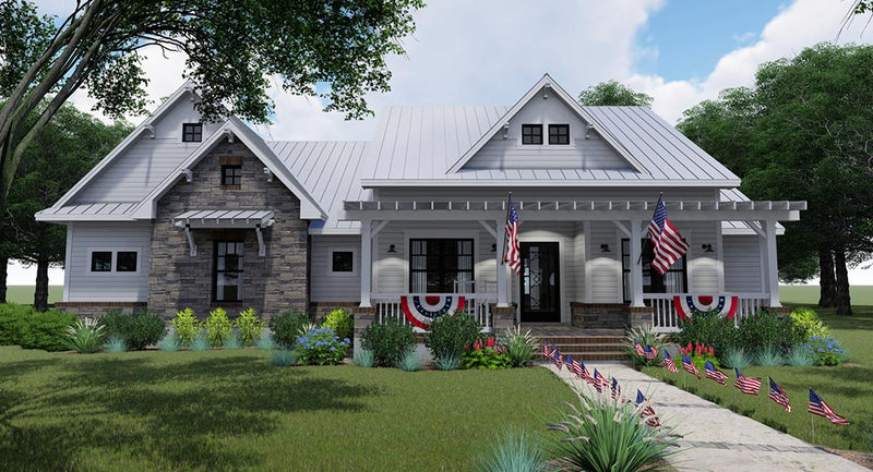 Independence Ave House Plan