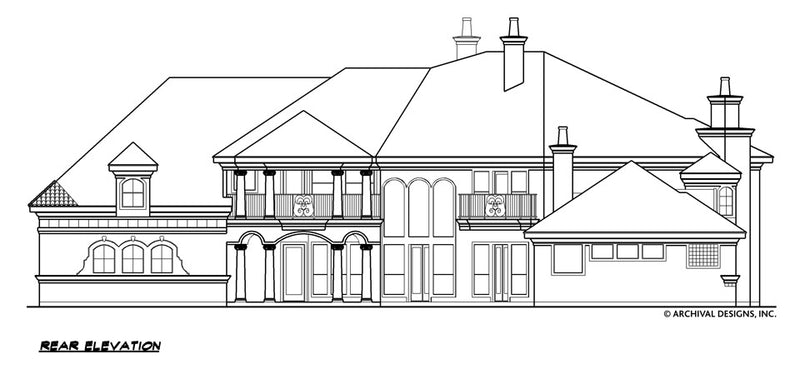 Inverness House Plan