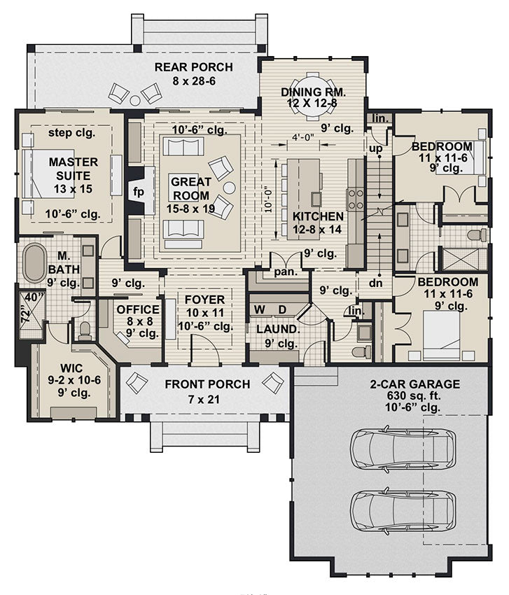 Ivory Farm, first floor plan
