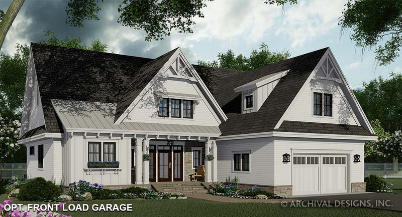 Ivory Farm House Plan
