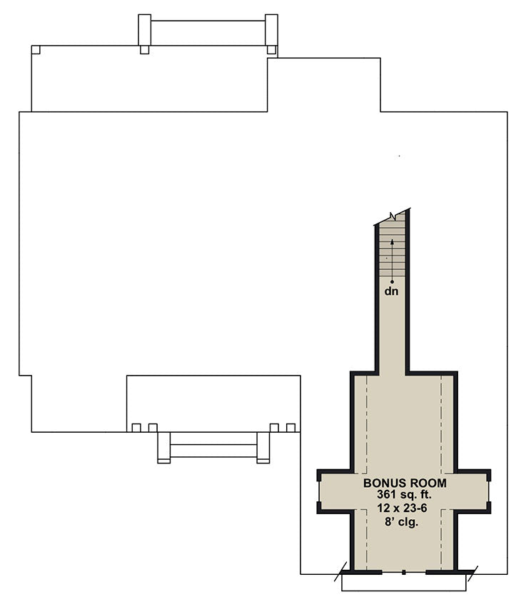 Ivory Farm, second floor plan