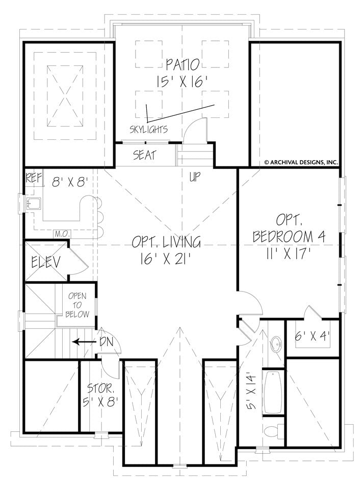 Jordan third floor plan