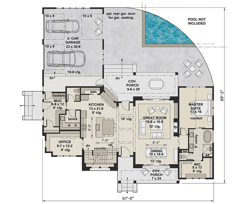 Josie Alice, first floor plan