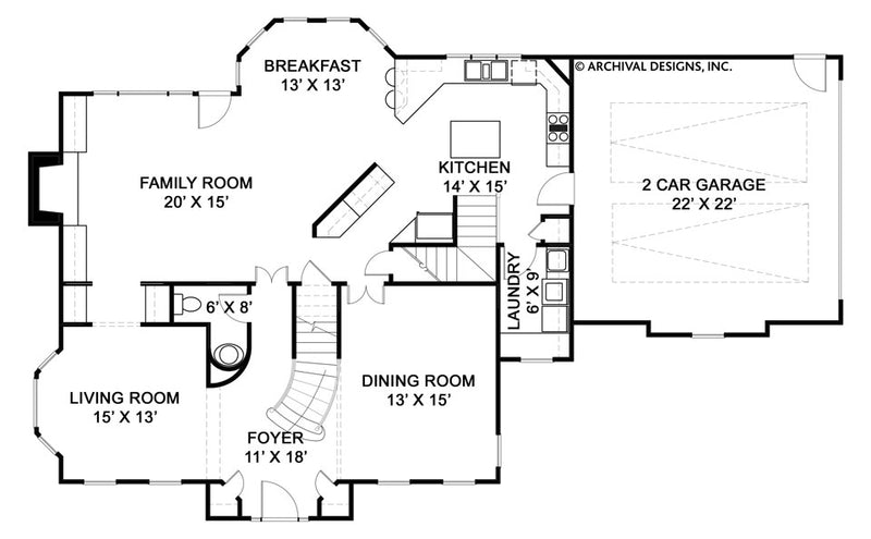Kelham Hall first floor plan