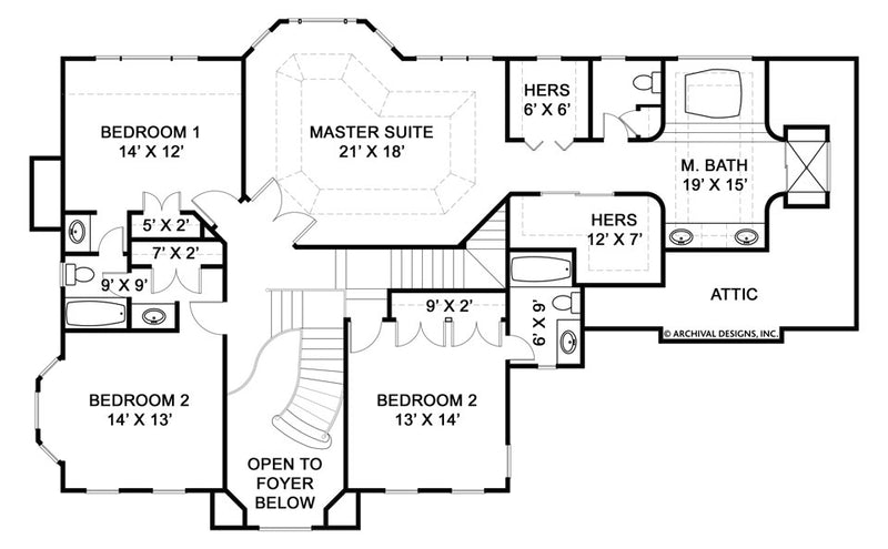 Kelham Hall second floor plan