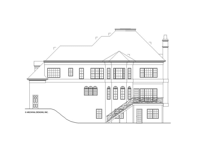 Kelham Hall House Plan