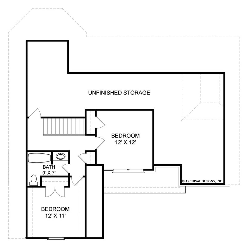 Kenilworth second floor plan