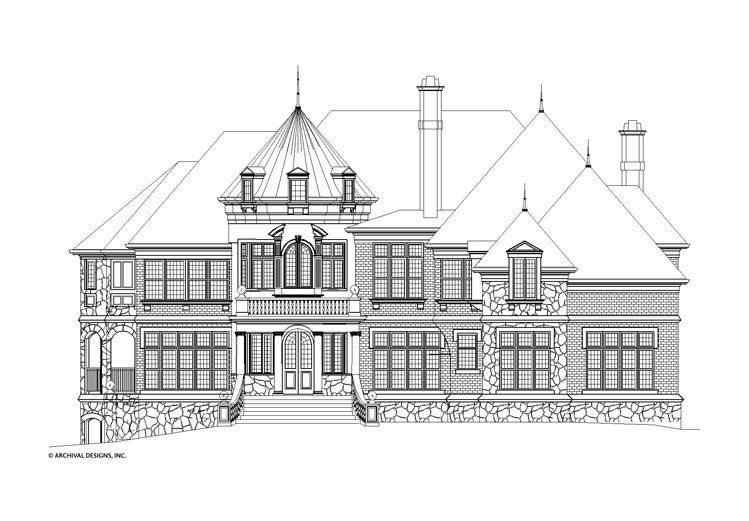 Kildare Castle House Plan
