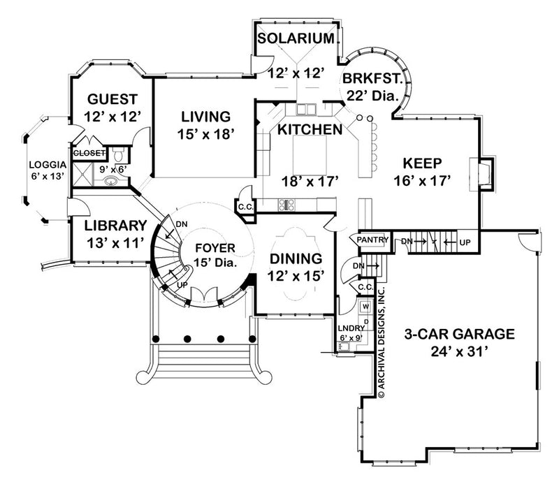 Kildare Place first floor plan