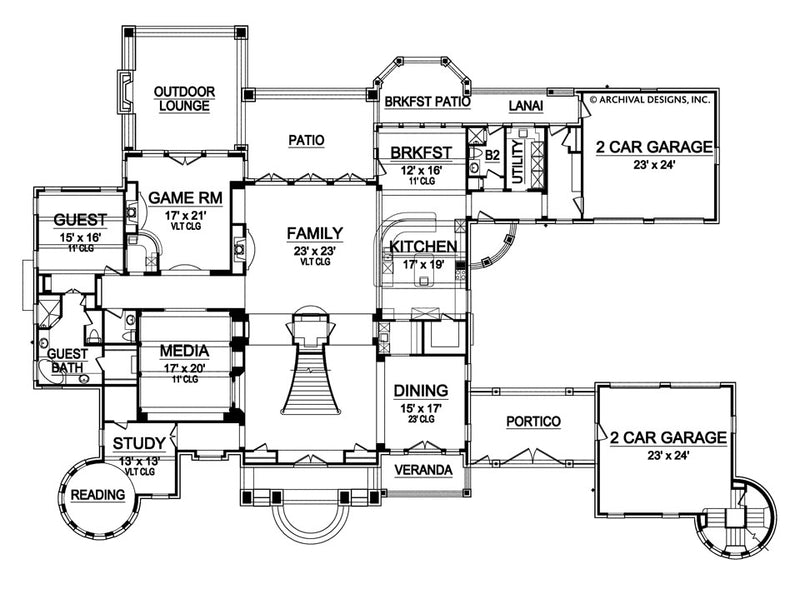 Kingsbridge first floor, floor plan