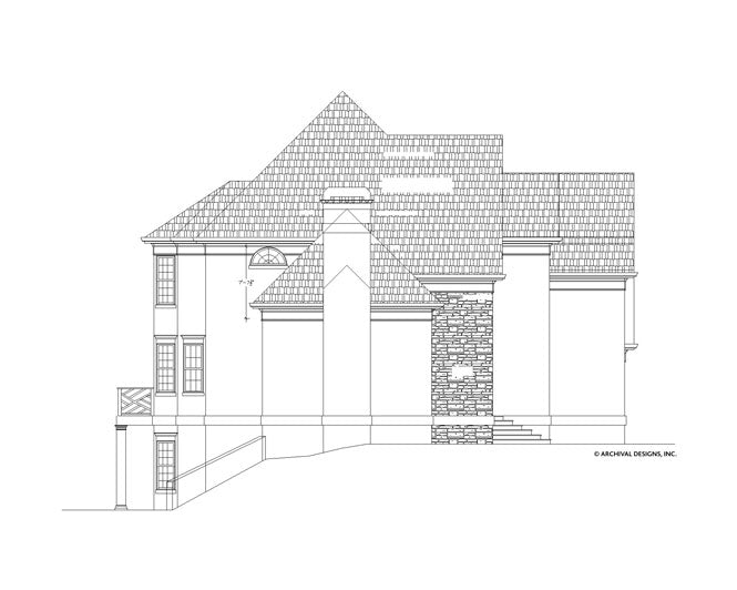 Kingscote House Plan