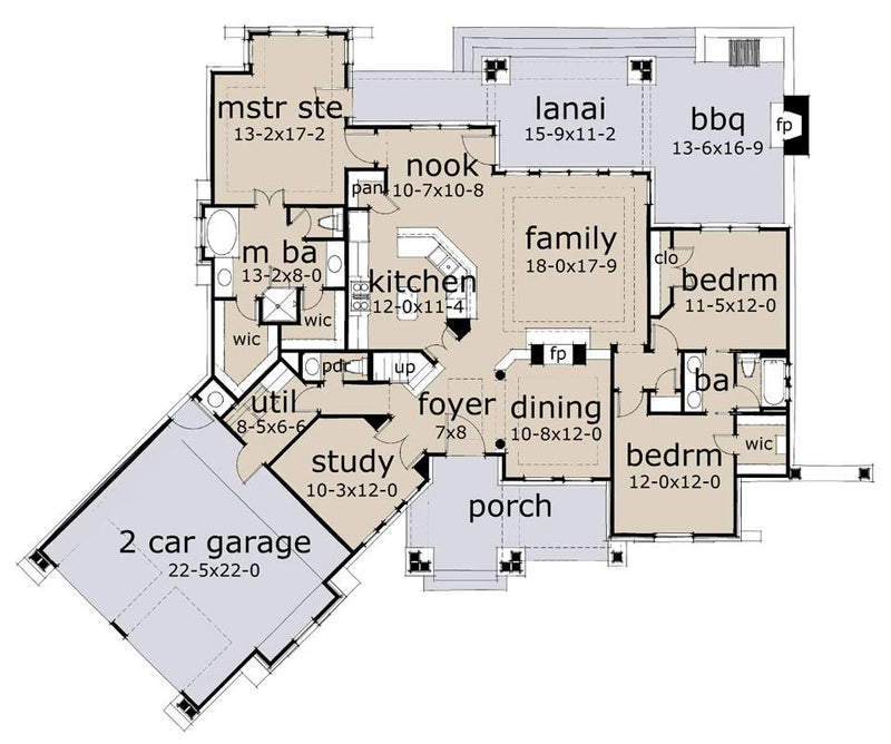 L'Attesa di Vita first floor plan