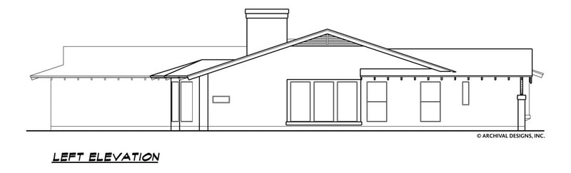 La Hacienda House Plan