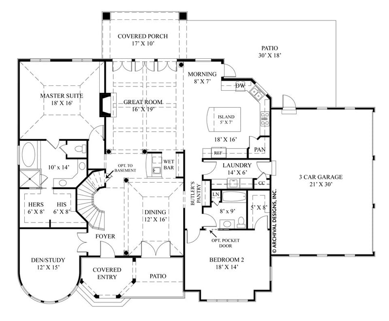 La Vogue first floor plan