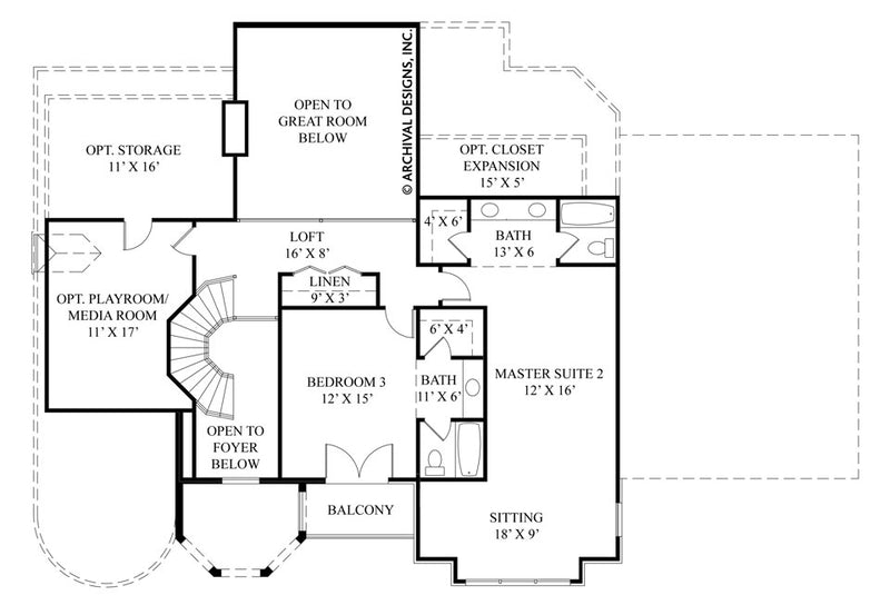 La Vogue second floor plan