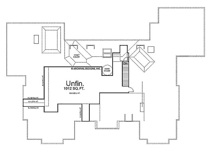 LaCrysta second floor plan