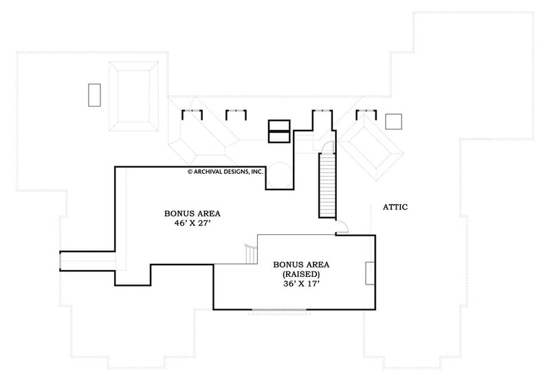 LaCrysta Place second floor plan
