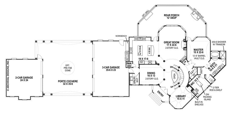 Lady Rose first floor plan
