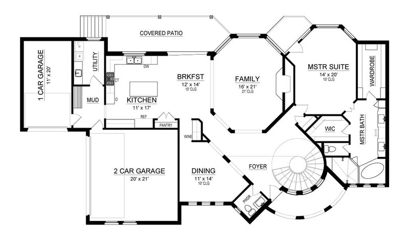 Las Colinas | First Floor Plan