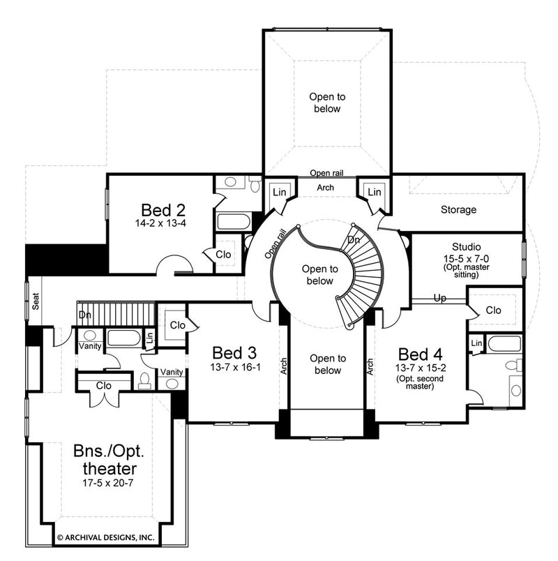 Latrobe second floor plan