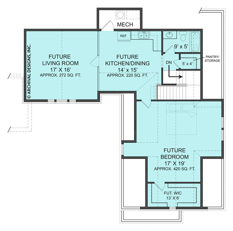 Laurel second floor plan