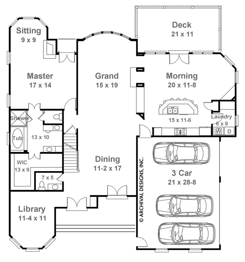 Limerick first floor plan