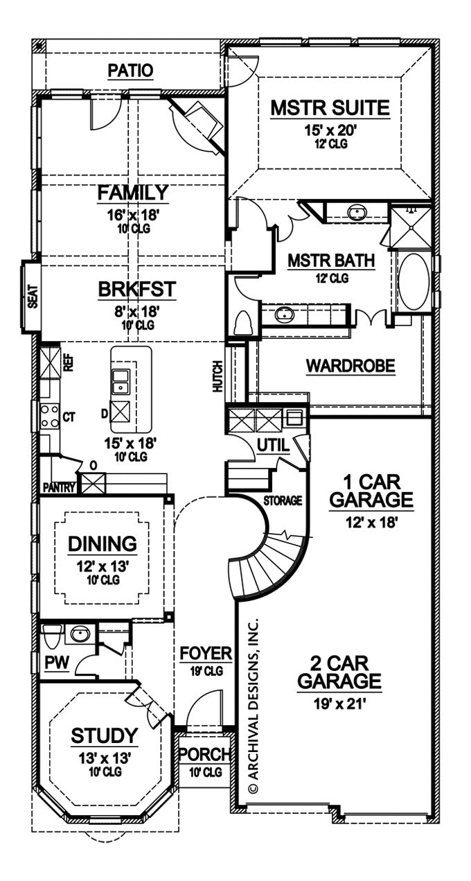 Limestone Ridge first floor, floor plan