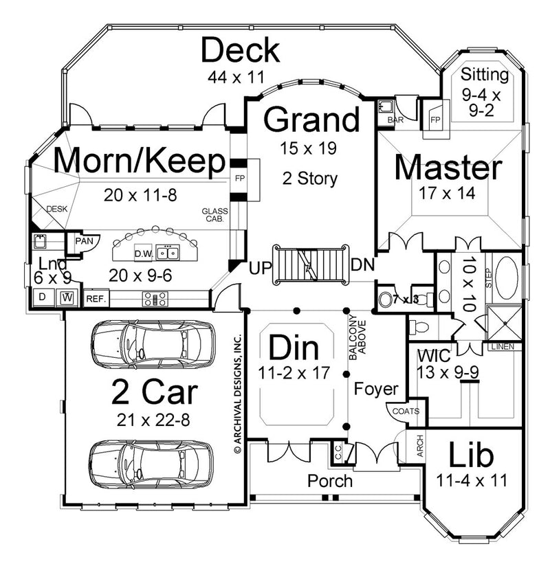 Litchfield first floor plan