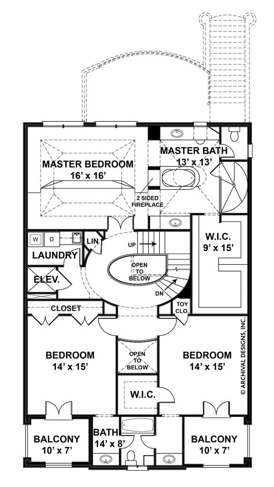 Loretto second floor plan