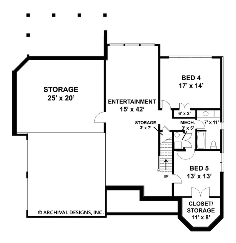 Loudon basement floor plan