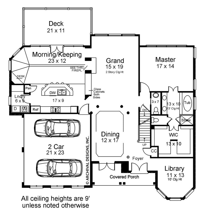Loudon first floor plan