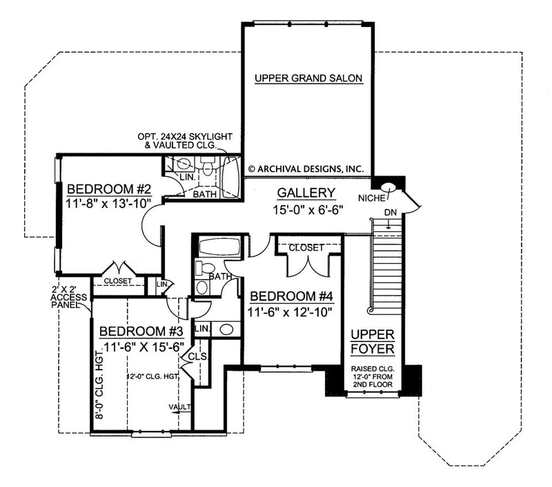 Loudon second floor plan