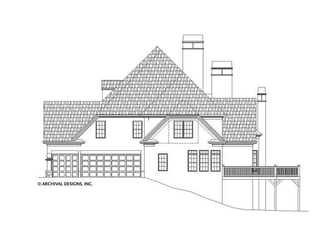 Lounsbury House Plan