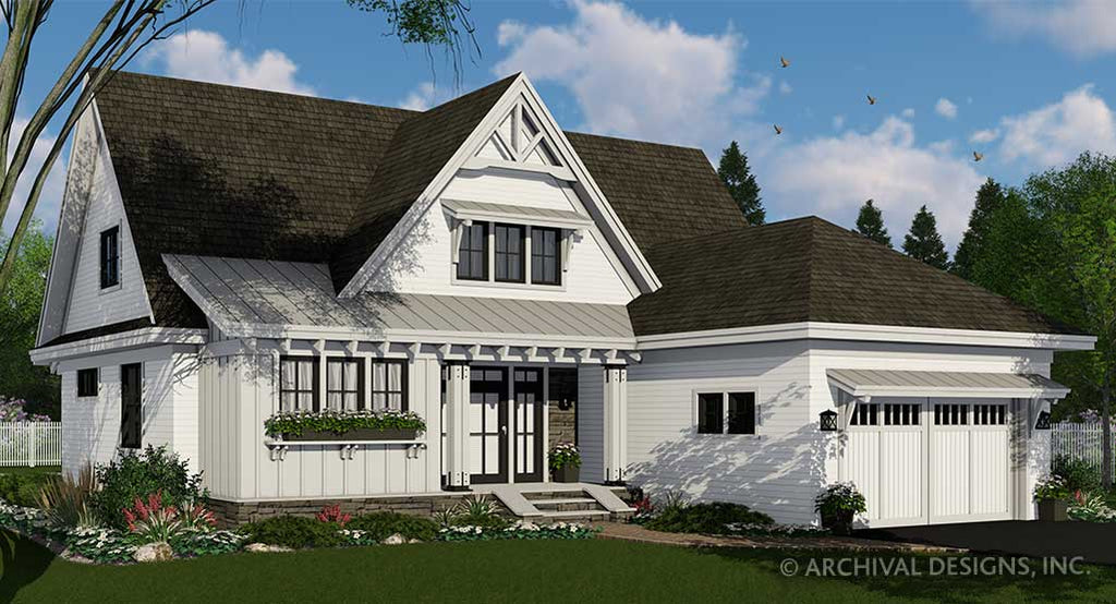 Cherry Pond Farm House Plan