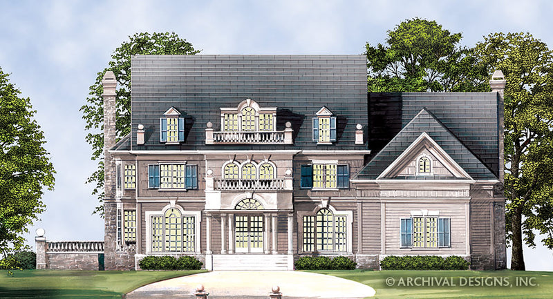Chestnut Street House Plan
