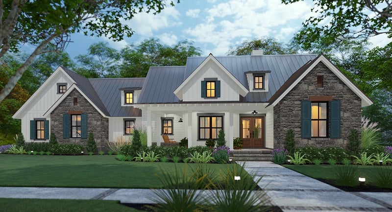 Cool Meadow Farm House Plan
