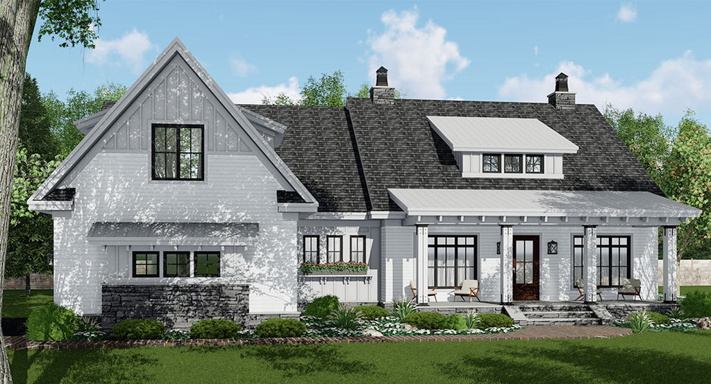 Hidden Hills House Plan